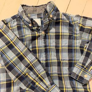 Plaid Toddler Button Down